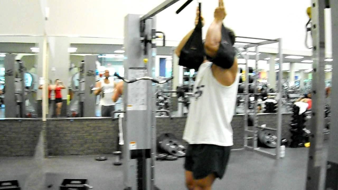 Hanging Leg Raise With Straps Hanging Leg Raise with...