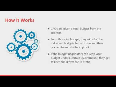 Negotiating Clinical Research Contracts and Budgets Webinar October 2017