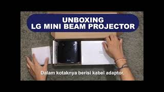 UNBOXING - LG MINI BEAM PROJEC…