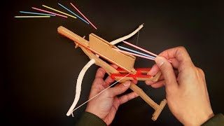 Making 10 Rounds Rapid-Fire Crossbow With 3D Pen