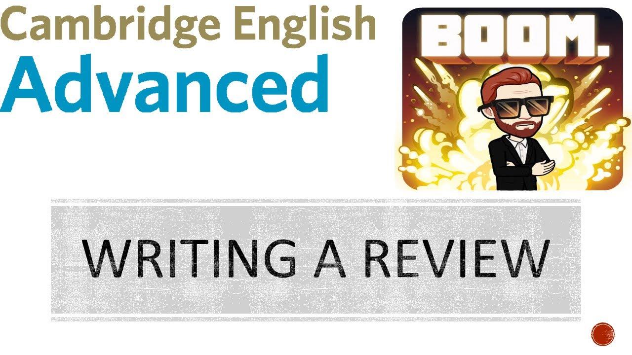Write source reviews