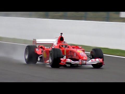 Ferrari F1 F2004 Ex Michael Schumacher - INSANE V10 ENGINE SOUNDS!!