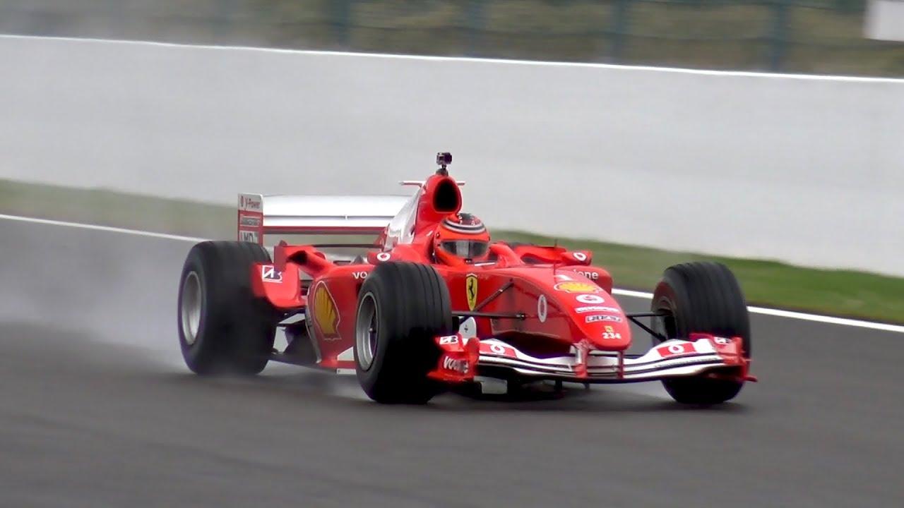 Ferrari F1 F2004 Ex Michael Schumacher Insane V10 Engine Sounds Youtube