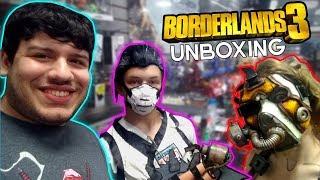 Borderlands 3 Super Deluxe Edition Gamestop Unboxing (ps4) & Borderlands 3 Themed Gamestop Party