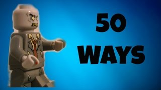 50 Ways To Kill A Lego Zombie