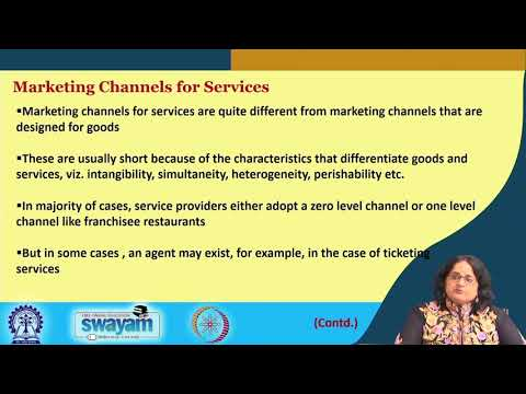 Lecture 37 : Distribution Channel Management: Distribution Channels: Part II
