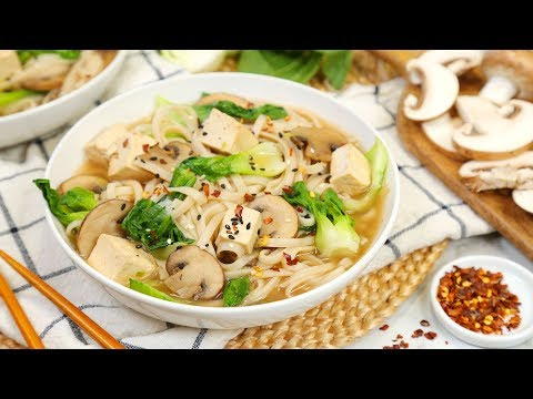 3 Healthy Noodle Bowl Recipes | Healthy Meal Plans 2020