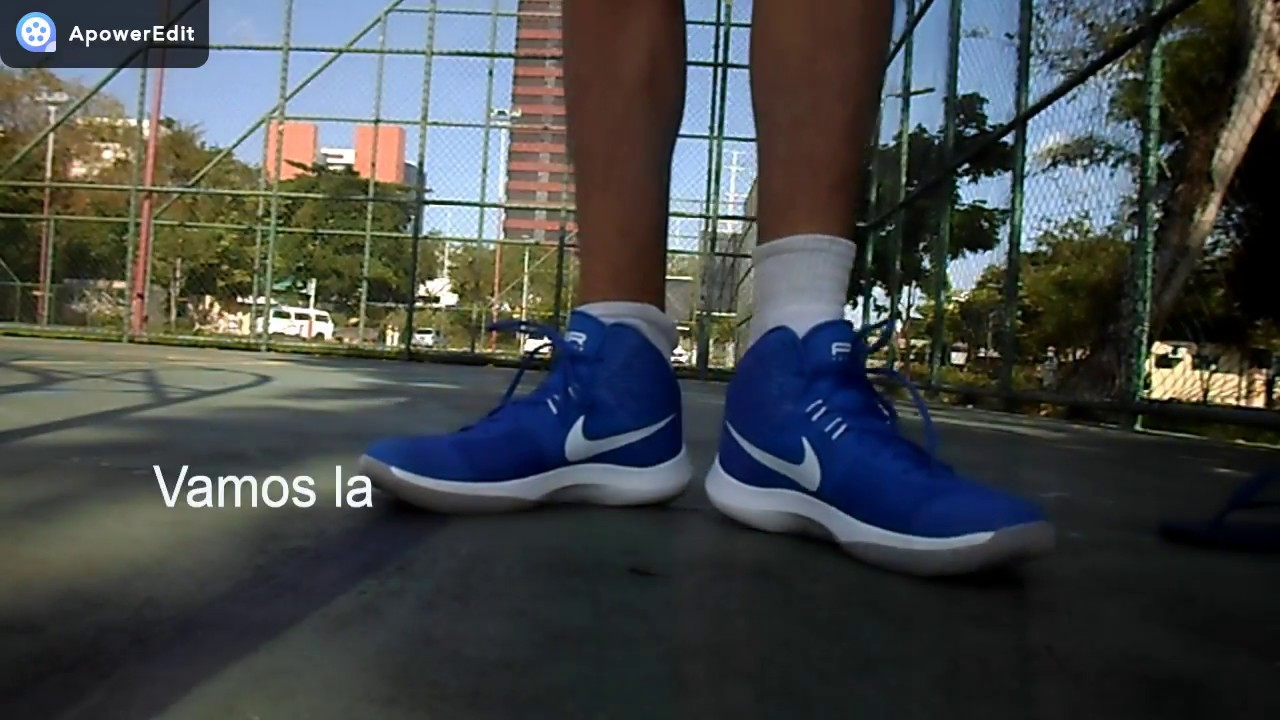 2ebf2ac68a7 Teste do Tênis Nike Air Precision - YouTube