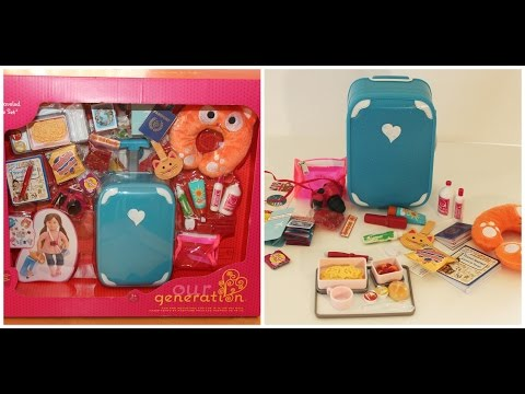 Our Generation Luggage Set For American Girl Dolls!