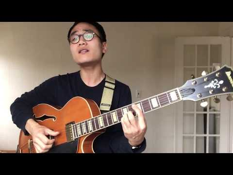"""ibanez akjv90d first play // St Vincent """"New York"""""""