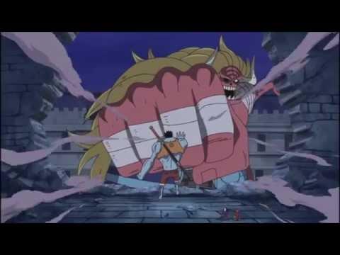 Nightmare Luffy VS Oars & Moria 1/2 English Dubbed