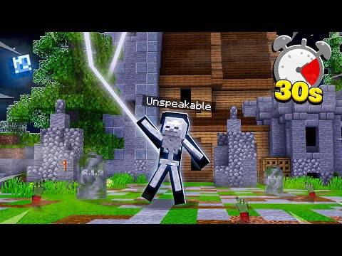 MINECRAFT, BUT YOU DIE EVERY 30 SECONDS...