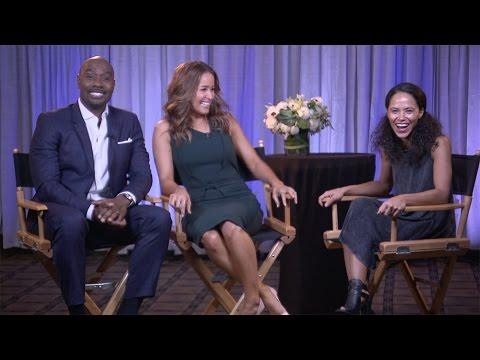 Download Morris Chestnut & Jaina Lee Ortiz Interview: Season 2   ROSEWOOD