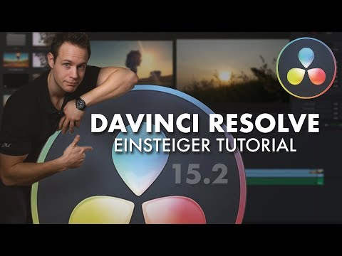 Davinci Resolve Einsteiger Tutorial 2018 (15.2) | by muenter media