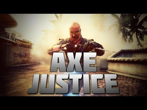 Black Ops 2 - Axe Justice! | ft Demo by wr3tched (Bankshots, Trickshots, Killcams, Feeds)