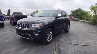 2014 Jeep Grand Cherokee Owosso, East Lansing, Haslett, DeWitt, St. Johns, OK N9249A