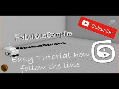 3ds max How object follow the line Tutorial thumbnail
