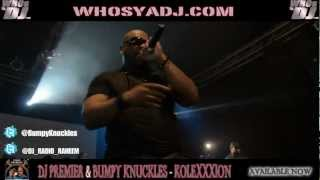 Bumpy Knuckles - The Key (live at KoleXXXion Album release party) [Dir. Radio Raheem]