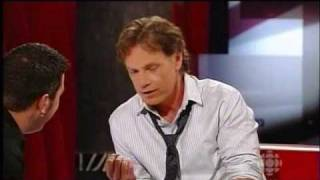 Bruce Greenwood Interviewed on The Hour