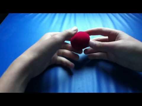 tour de magie facile avec une balle