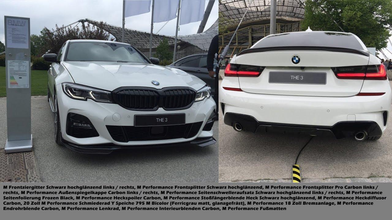 Bmw 3er G20 All M Performance Parts 320d In Alpinweiss
