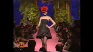 1988 christian lacroix haute couture spring summer fashion show
