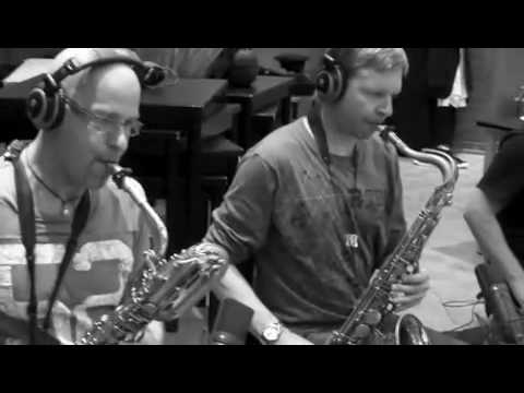hot pants road club - grand funk orchestra horn section in the studio