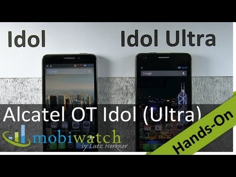 Alcatel One Touch Idol + Idol Ultra: Differences Demonstrated