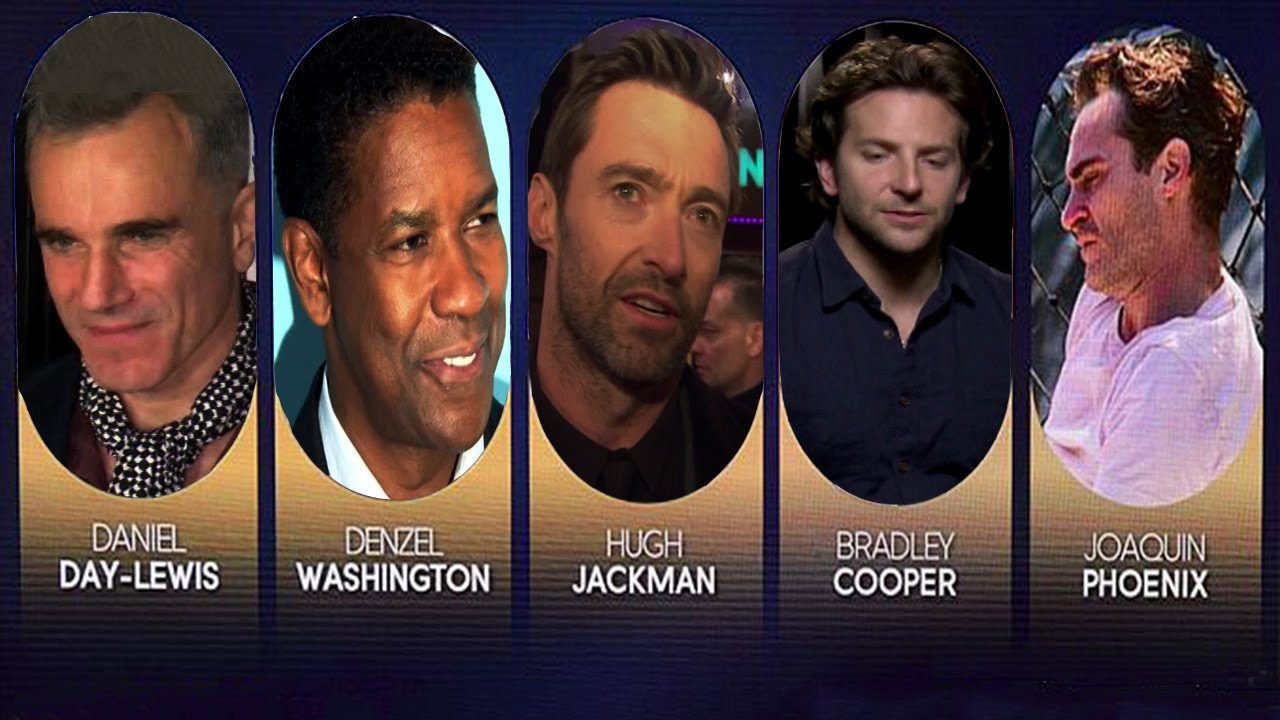 Oscar Nominations 2013: Best Actor Category - YouTube