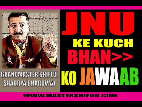 JNU Outrage by Grandmaster Shifuji Shaurya BhardwajChief Commandos Mentor