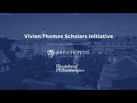 Johns Hopkins University And Bloomberg Philanthropies Announce The Vivien Thomas Scholars Initiative, A $150 Million Effort To Fuel Diversity In STEM Fields