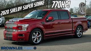 BRAND NEW COLOR 2020 Shelby Super Snake F-150 | 770 Horsepower | RAPID RED | For Sale
