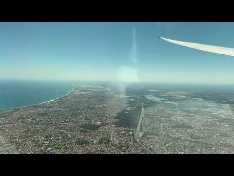 QF10 To Perth, Australia, Direct
