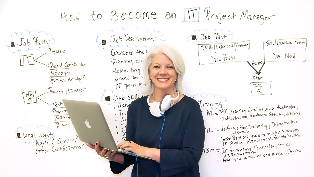 Project Management: How To Become An IT Project Manager
