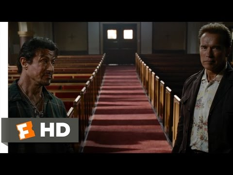 The Expendables (2/12) Movie CLIP - Old Friends (2010) HD
