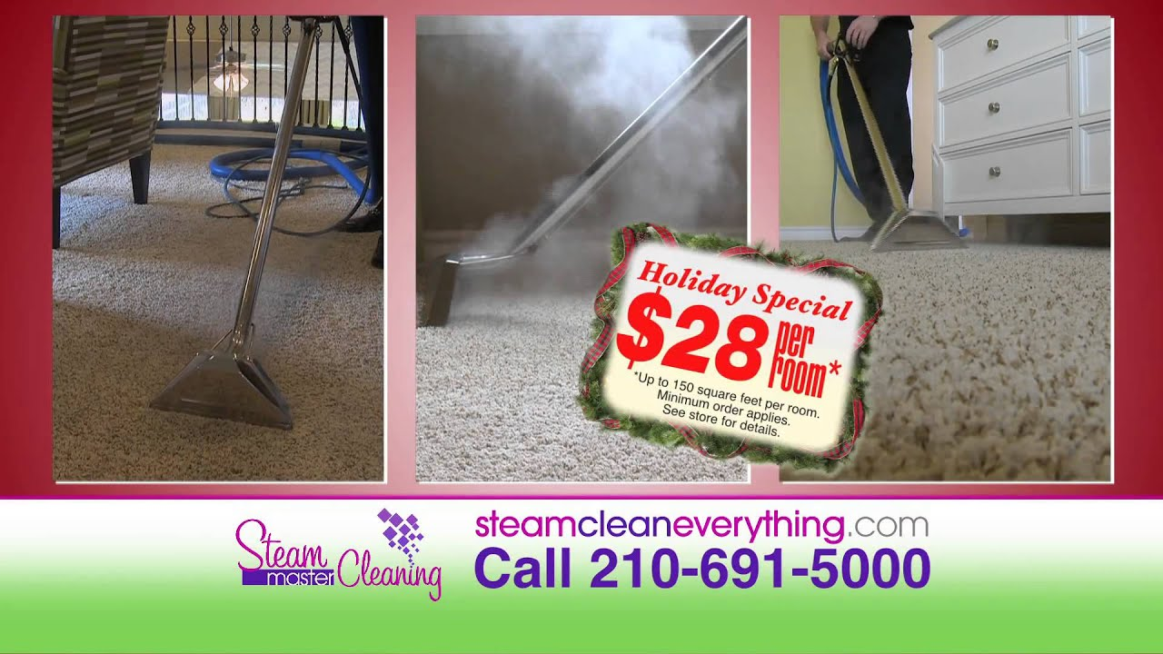 Steam Master Carpet Cleaning San Antonio Tv Commercial
