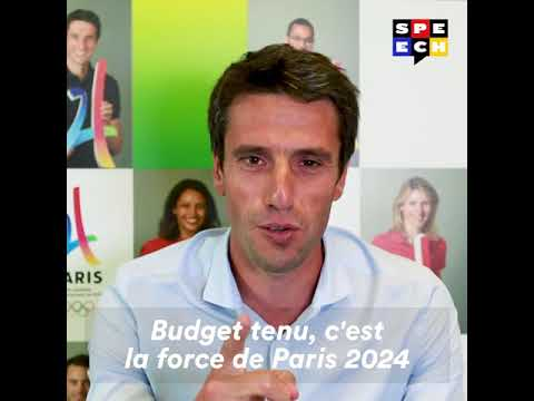 Fast & Serious - Tony Estanguet, co-Président du Comité de candidature Paris 2024
