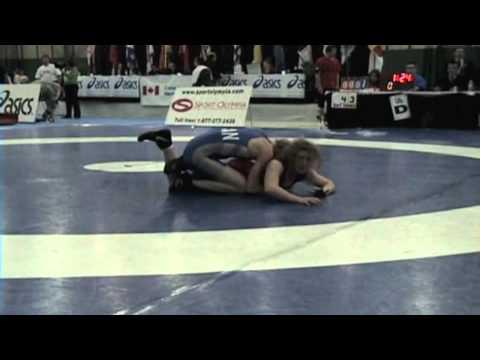 2009 Senior National Championships: 51 kg Sam Stewart vs. Gen Haley