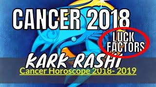 2018 Cancer Horoscope. Kark Rashi Lucky Colors, Numbers, Days, Rudr...