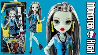 Обзор куклы Фрэнки Штейн из коллекции Первый день в школе ( First Day of School Frankie Stein)