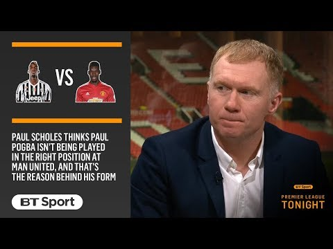 """Where's the Paul Pogba we all saw at Juventus?!"" 