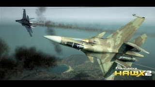 HAWX 2 - SU-27 Flanker - Intense Dogfight - PC HD