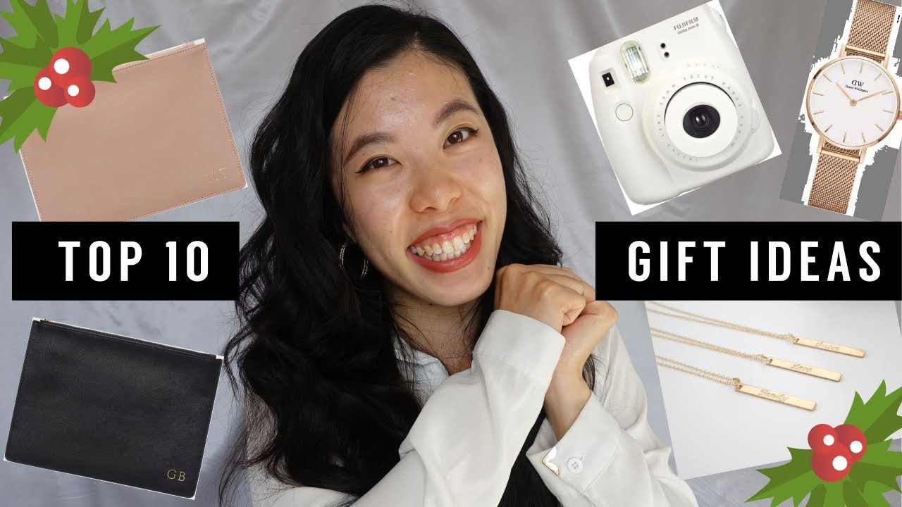 Top 10 Christmas Gifts To Spoil Her 😍 | Fashion Loving GF & BFF ...