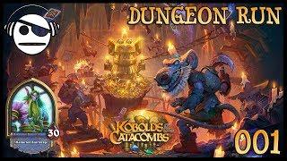 Hearthstone | Kobolds & Catacombs | Dungeon Run 001 | Druid