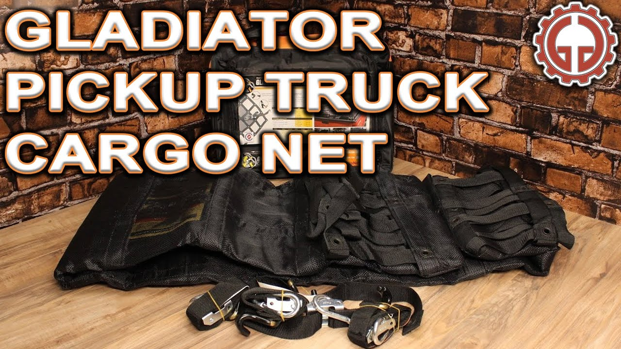 Gladiator Cargo Nets Review Youtube