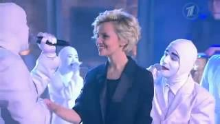 "Voca People  ""Boys In Love"" medley  Russia Late Night TV 2013"
