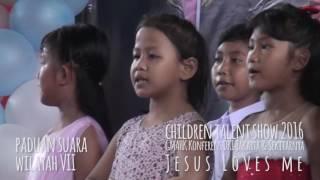Children Talent Show 2016 (Jesus Loves Me) part 3