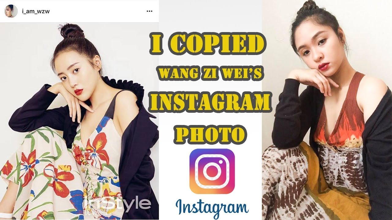 I Copied Wang Zi Wei S Instagram Photo A Love So Beautiful Cast Lin Jing Xiao Ph Youtube