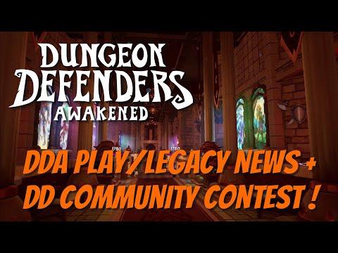 DDA News Plus Dungeon Defenders Community Contest!