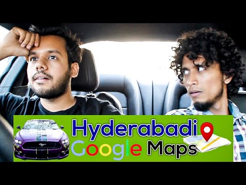 IF GOOGLE MAPS WERE A HYDERABADI PALAAN & GIVEAWAY..!!